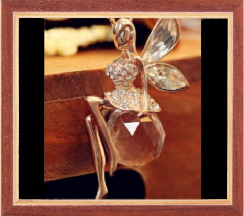Win 1 of 7 CRYSTAL Fairy Necklaces
