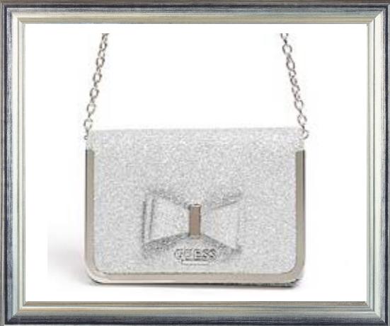 Win a GUESS Silver Bow Handbag