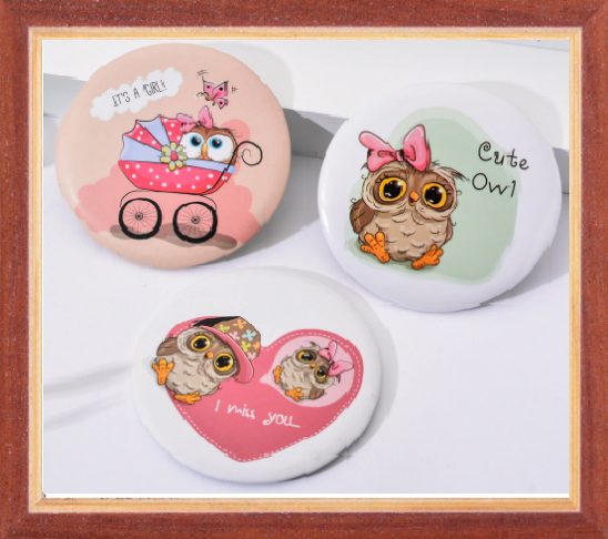 Win 1 of 6 Adorable Owl Mirrors