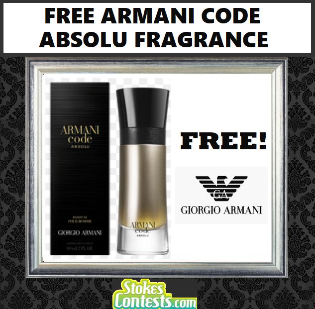 FREE Armani Code Absolu Fragrance
