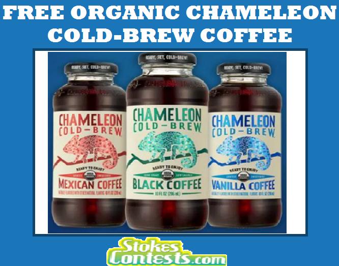 FREE Organic Chameleon Cold-Brew Coffee
