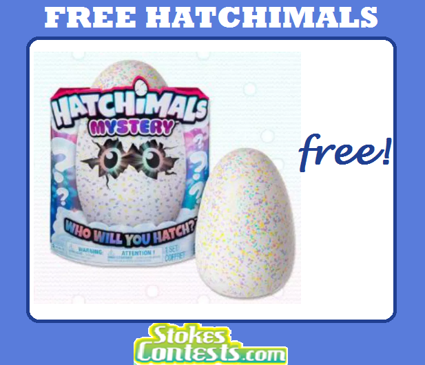 FREE Hatchimals