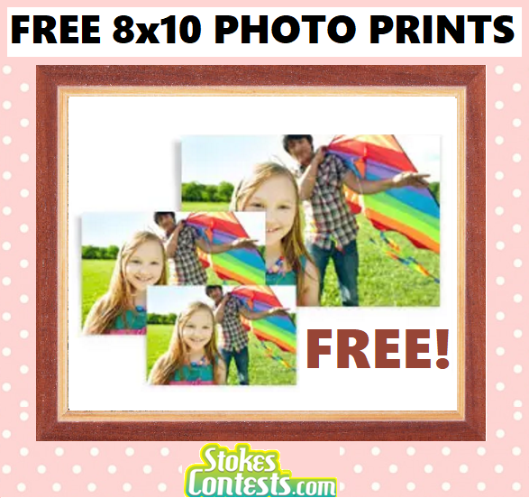 FREE 8X10 Photo Print from Walgreens.Photo