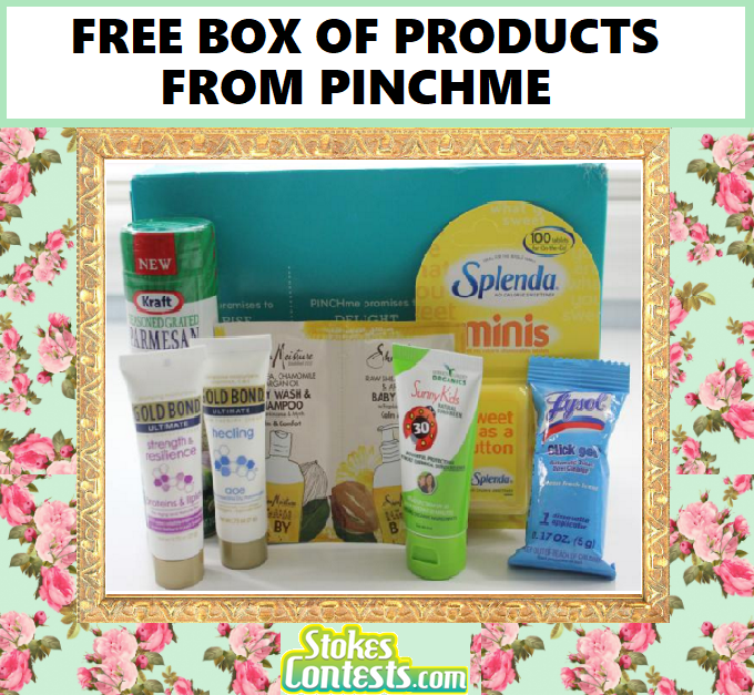 FREE Full-Size Samples BOX From Pinchme!!.!