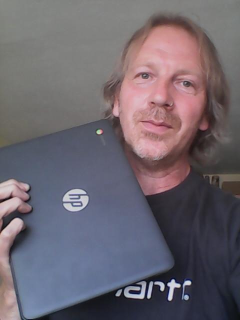 HP Hewlett Packard Chromebook Laptop