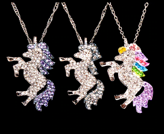 Win 1 of 4 CRYSTAL Unicorn Necklaces